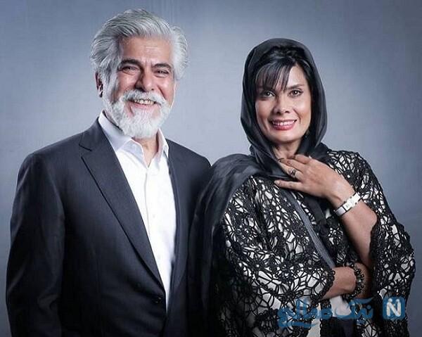 حسن پاکدل و همسرش