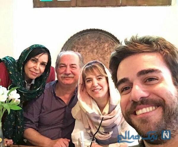 عکس خانوادگی بازیگران معروف
