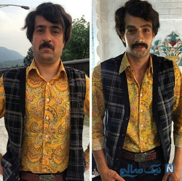 شباهت جالب احمد مهران فر و بدلش