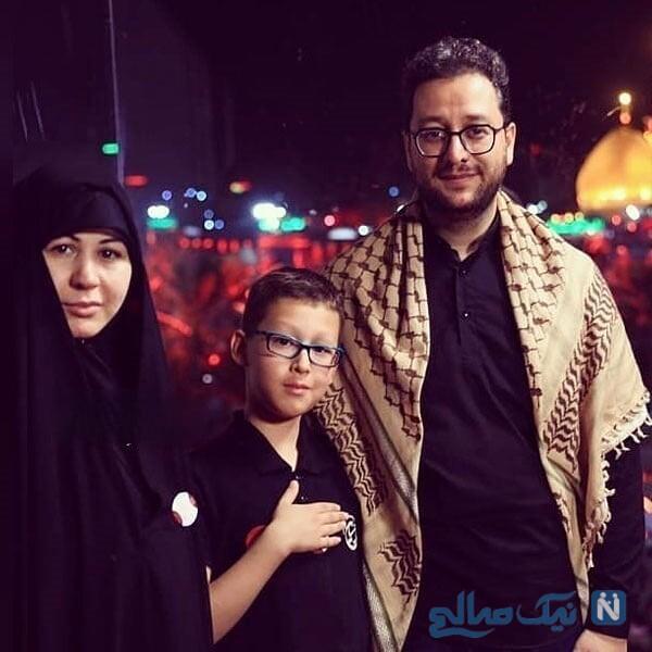بشیر حسینی داور عصر جدید و همسرش