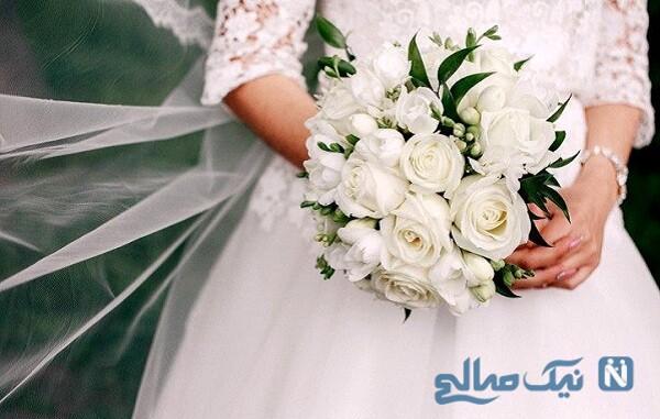 عروس و داماد زیبای ایرانی که به خاطر کرونا جشن نگرفتند