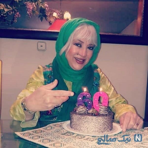 جشن تولد خانم منافی ظاهر
