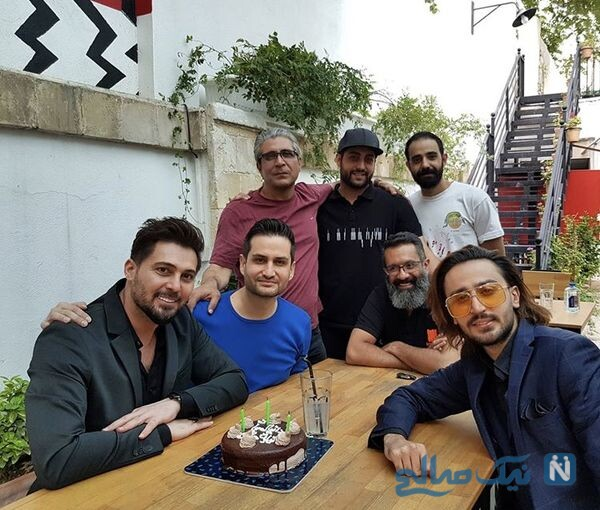 جشن تولد 40 سالگی دانیال عبادی
