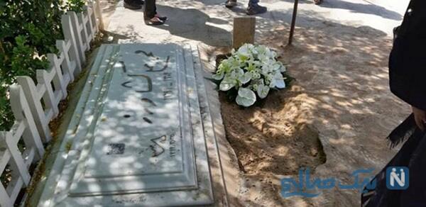 مراسم خاکسپاری خسرو سینایی