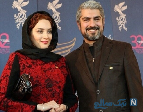 مهدی پاکدل و همسر سابقش