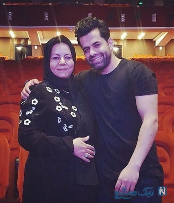 مادر خواننده معروف