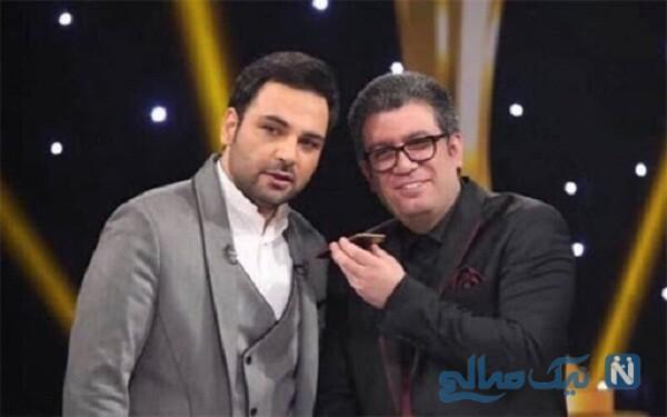 رضا رشیدپور و احسان علیخانی