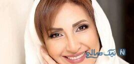 فاطمه گودرزی بازیگر در سالن زیبایی شخصی اش