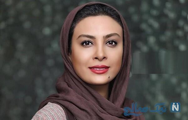 دوچرخه سواری حدیثه تهرانی بازیگر در طبیعت