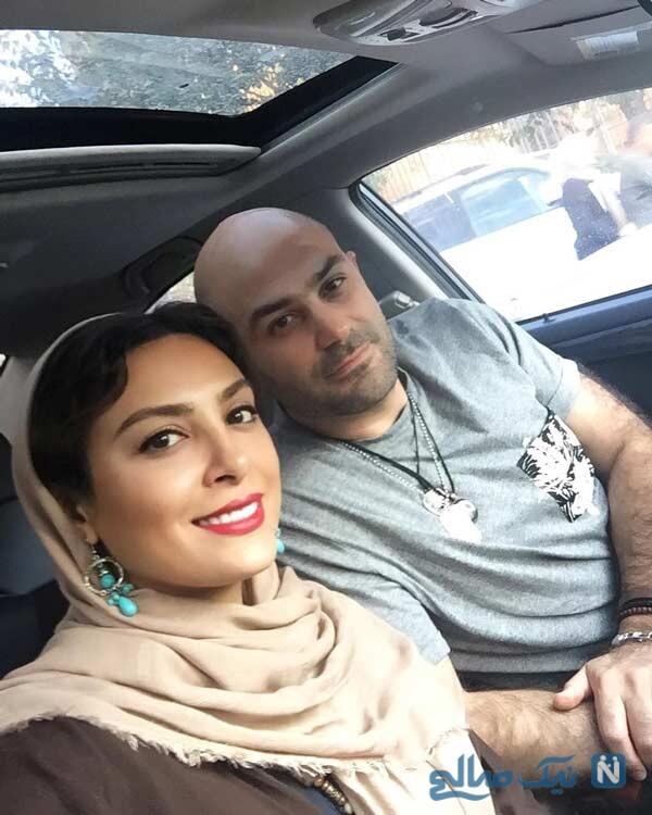 حدیثه تهرانی همسرش کیان مقدم