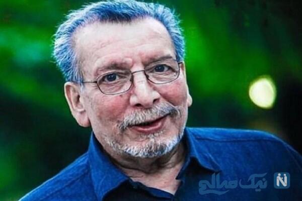 دابسمش جالب حدیثه تهرانی و همسرش به یاد مرحوم بهمن مفید