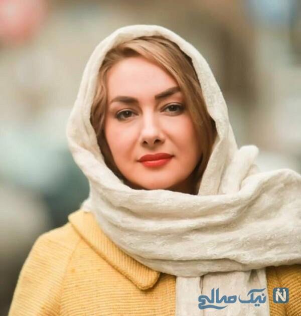 تصویری از هانیه توسلی بدون آرایش