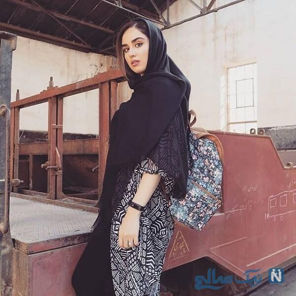 دختر لادن سلیمانی