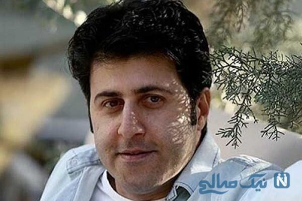 ترس شدید هومن حاجی عبداللهی از کرونا در برنامه زنده