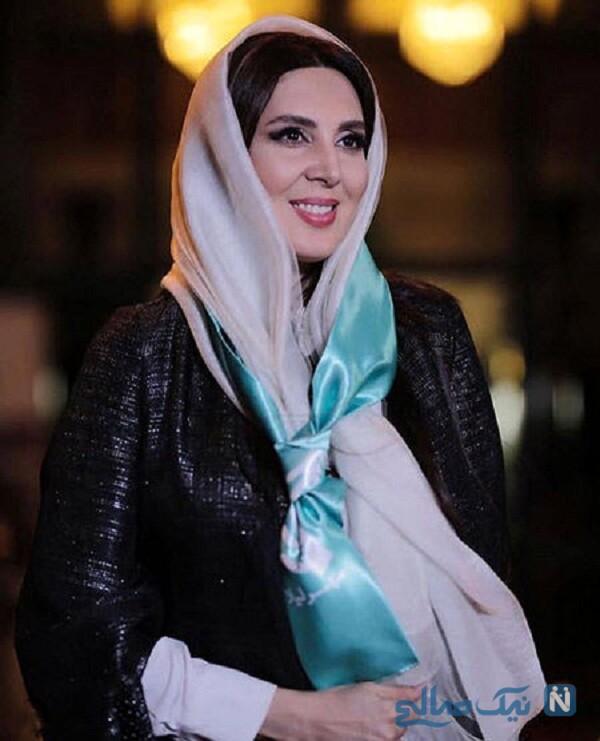 نقاشی جالب لیلا بلوکات بازیگر ایرانی