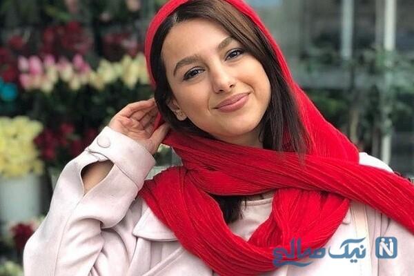 جوانه دلشاد بازیگر عاطفه در حوالی پاییز و خواهرش