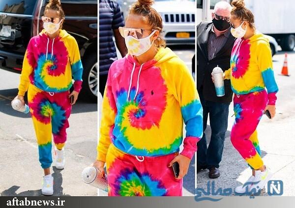 لباس عجیب خواننده معروف