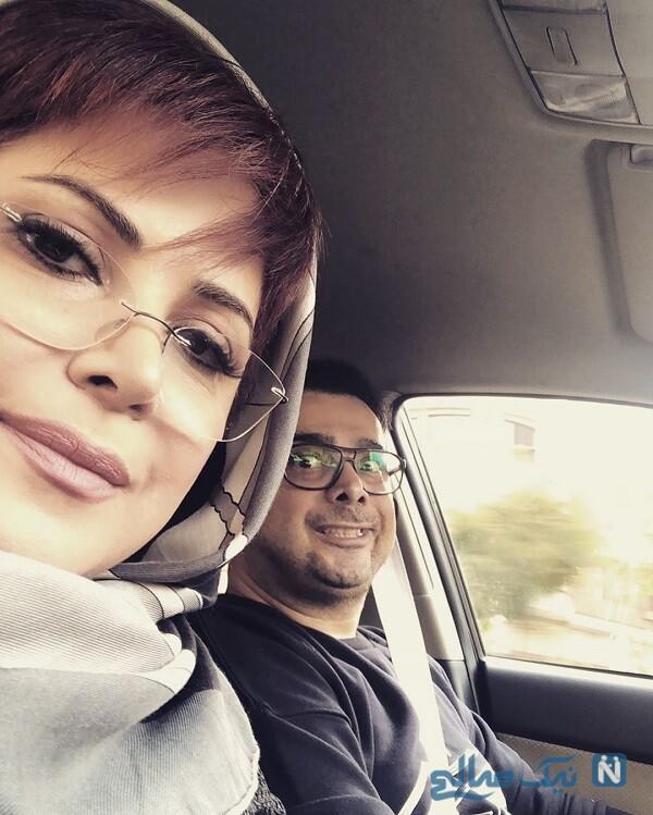 سپند امیرسلیمانی و خواهرش