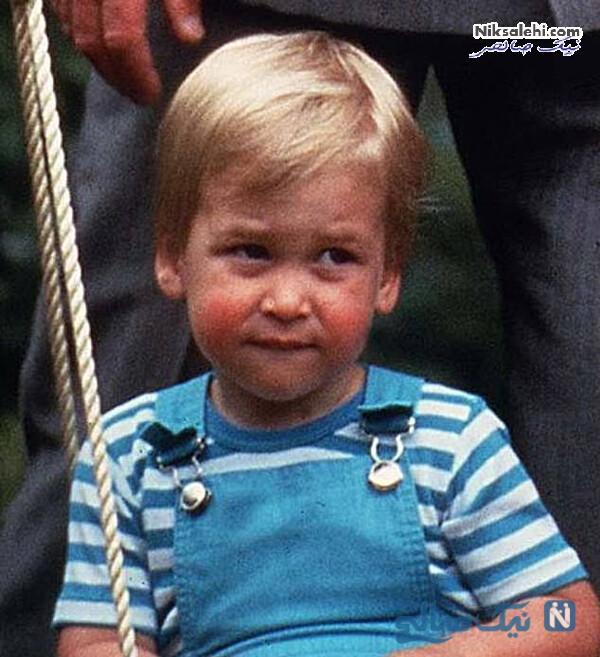 کودکی پرنس ویلیام