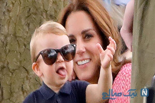 فرزند سوم کیت میدلتون و شباهت بسیار جالب به برادرش جورج