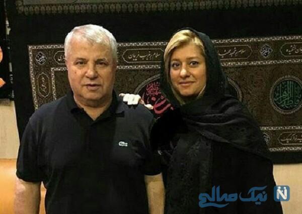لادن دختر علی پروین بازیکن سابق فوتبال
