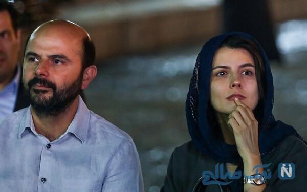 لیلا حاتمی و همسرش