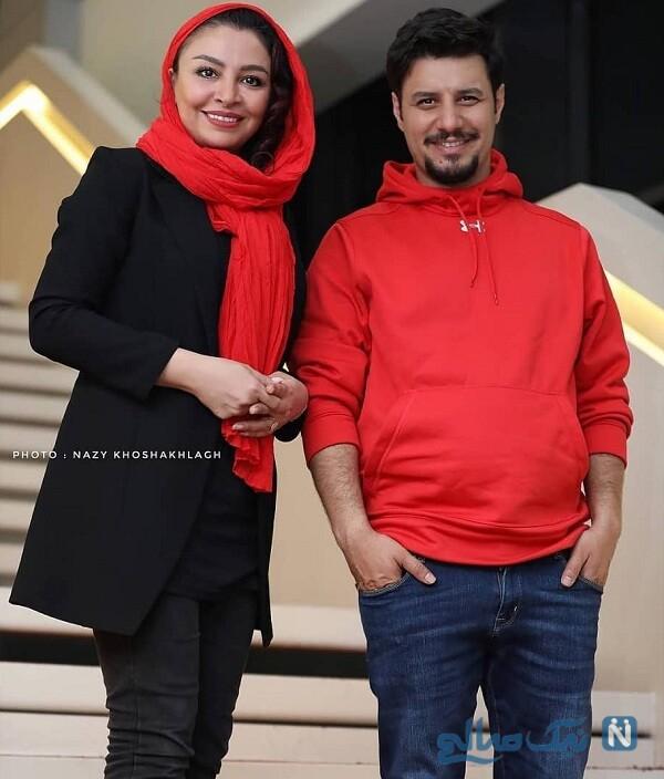 ست جالب لباس جواد عزتی و همسرش