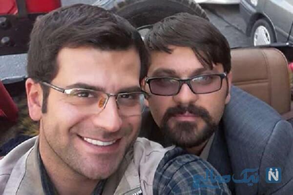 محمود خسرومنش بازیگر «بچه مهندس۳» با لباس شمر در تعزیه