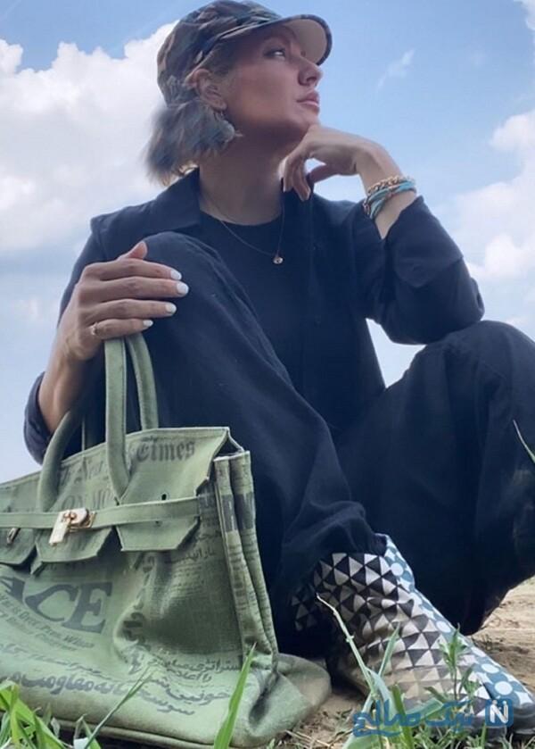 کیف و کفش جدید خانم بازیگر