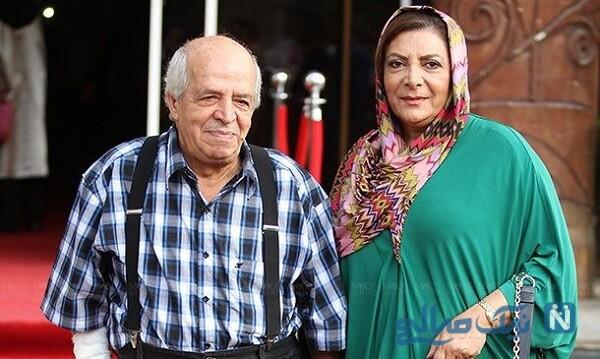 تصویری از مهوش وقاری و محسن قاضی مرادی