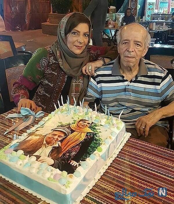 جشن دو نفره زوج هنرمند ایرانی