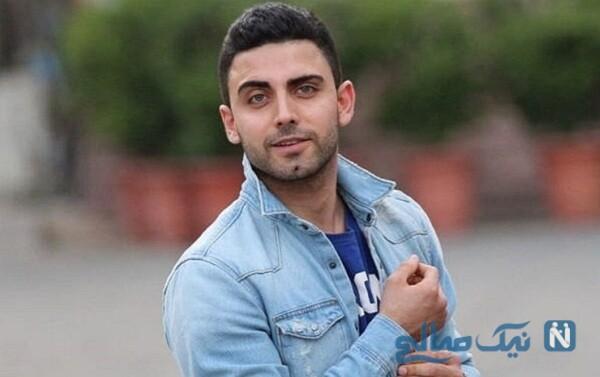 تصویر جدید محمد صادقی بازیگر خوش استایل سریال مانکن