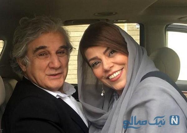 تصویری از مهدی هاشمی و همسر دومش