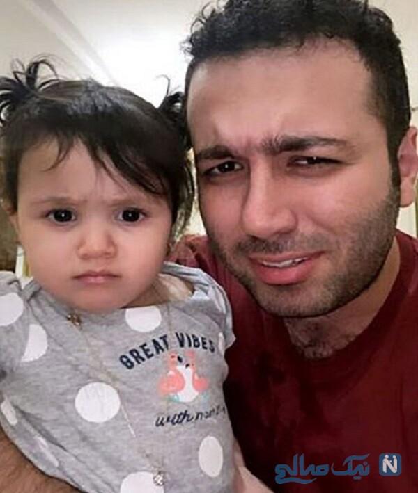 دختر مهران غفوریان و علی صبوری