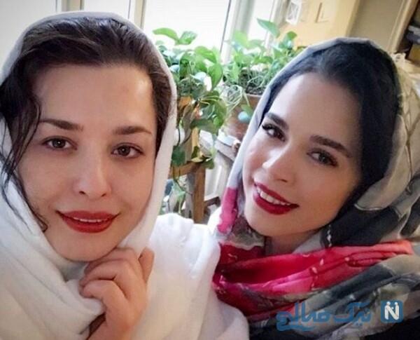 مهراوه و ملیکا شریفی نیا بازیگر