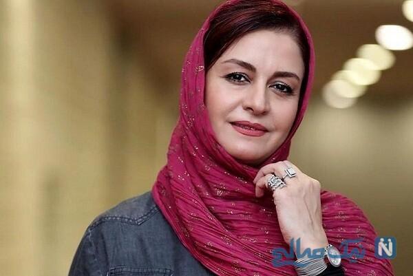استایل خاص و جدید مریلا زارعی با ماسک در جشن حافظ