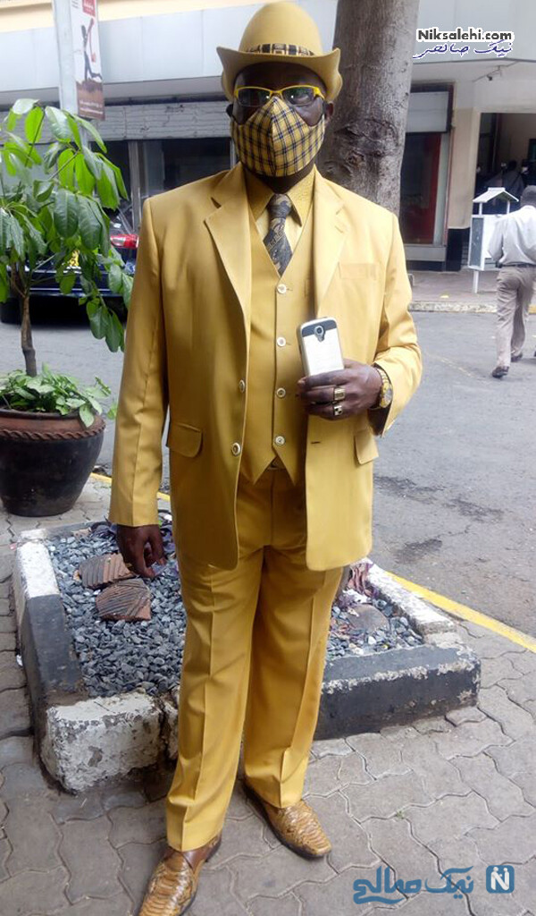 ست لباس های زرد رنگ جیمز