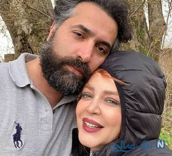 عکس جدید بهاره رهنما بازیگر و همسرش