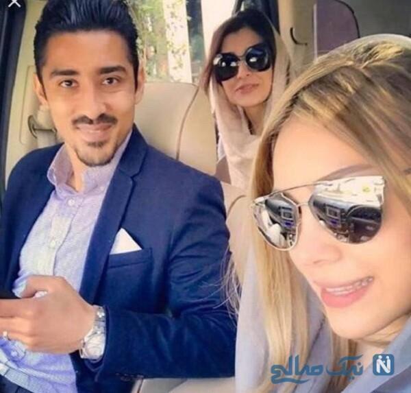 عکس جدید رضا قوچان نژاد و همسرش