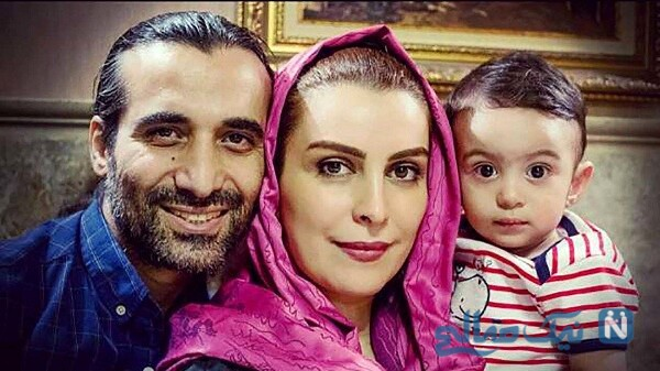 همسر و پسر ماه چهره خلیلی