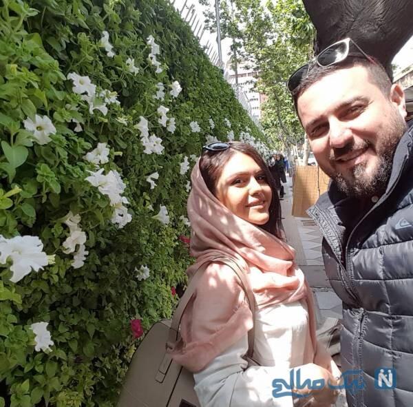 محسن کیایی ودخترش و همسر آقای بازیگر