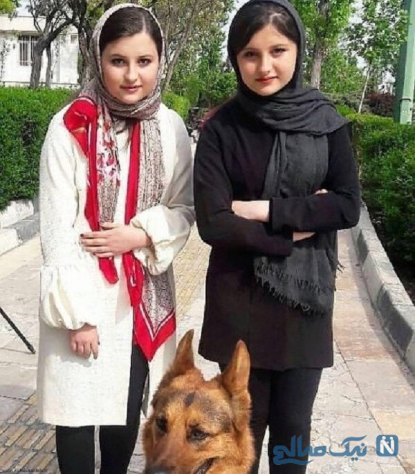 عکس سارا و نیکا فرقانی بازیگر