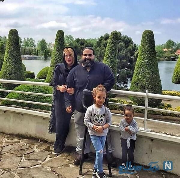 عکس متفاوت خانواده رضا صادقی