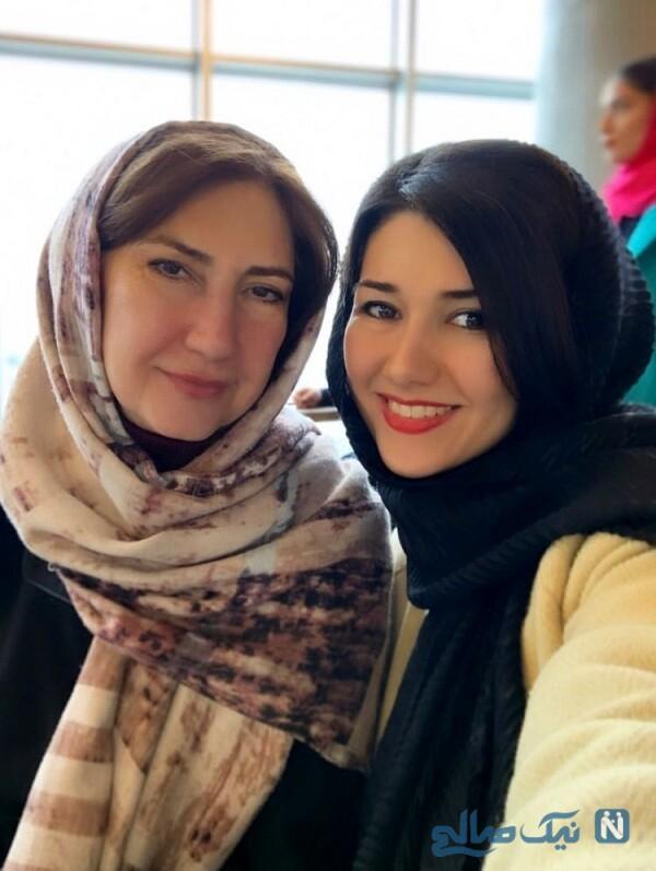 خواهر و مادر شاهرخ استخری