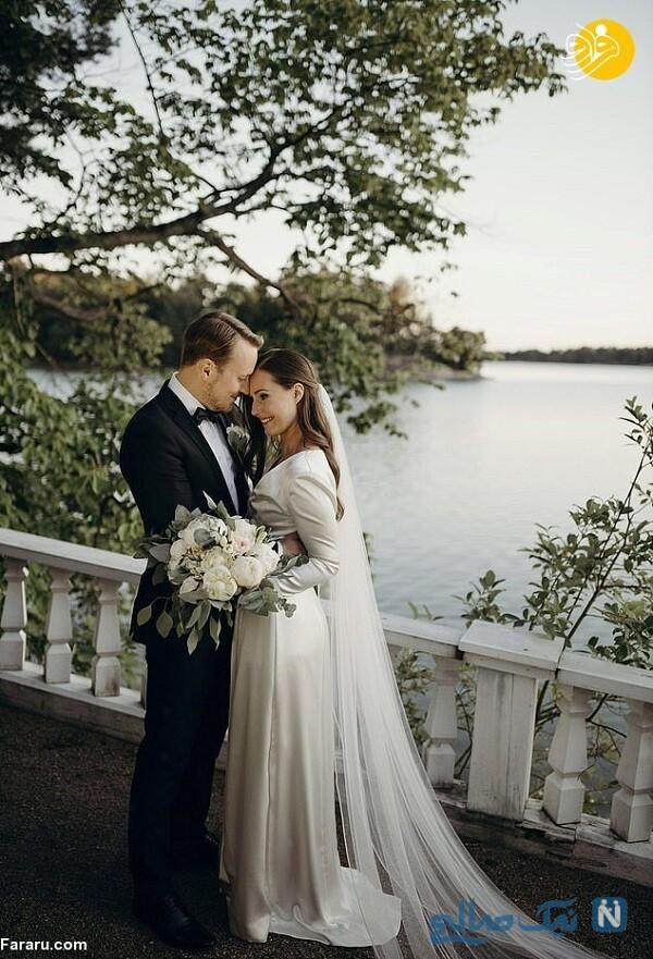 مراسم عروسی نخست وزیر فنلاند