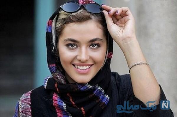 ریحانه پارسا بازیگر خوب بد جلف ۲ و حیوان خانگی اش