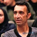 رضا عنایتی فوتبالیست پیشکسوت و ۴ پسرش در یک جشن تولد
