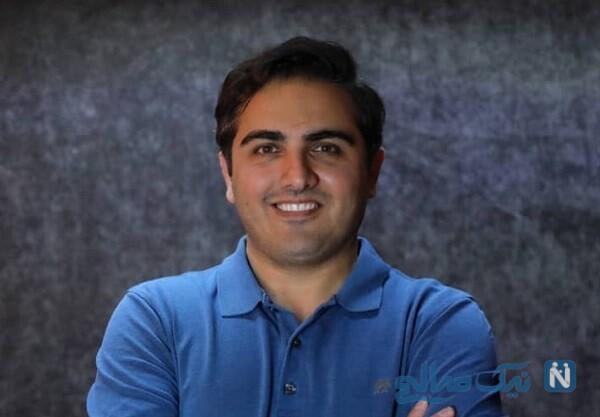 سعید کریمی بازیگر بچه مهندس ۳ پشت صحنه برنامه استندتاپ