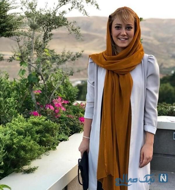 تصویری از ساقی حاجی پور و خواهرش