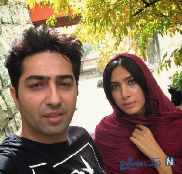 عکس جدید سارا نجفی و علی سخنگو